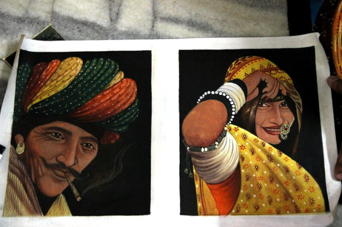 Paintings made by Mr. Kailash Jinger :)