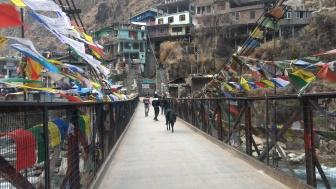On our way to the Gurudwara