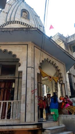 The temple at Manikaran